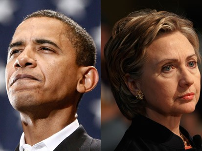 Obama + Clinton